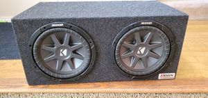 Kicker Subwoofer with box for Sale in Wood Village, OR