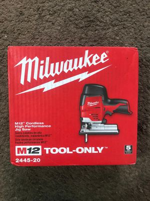 Milwaukee JIG SAW M12 (2445 20)BRAND NEW!!!Nuevo for Sale in Los Angeles, CA