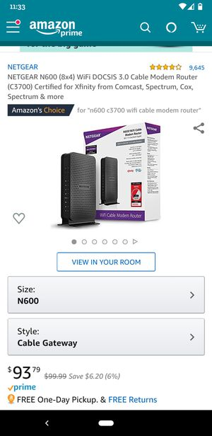 Netgear modem router for Sale in Round Rock, TX