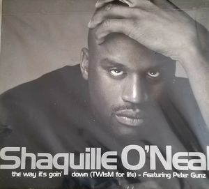Shaquille O'neal The Way its Goin' down featuring Peter Gunz for Sale in Lacey, WA