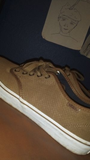 Snakeskin Vans size 10 for Sale in Burleson, TX