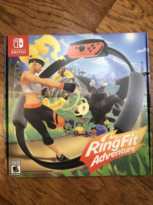 RING FIT. Brand new! NINTENDO Switch. Factory sealed for Sale in Auburn, WA