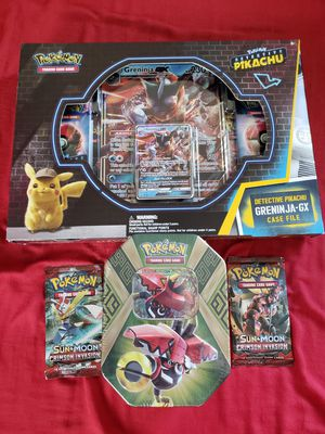 Pokemon card packs & jumbo card bundle for Sale in Manteca, CA