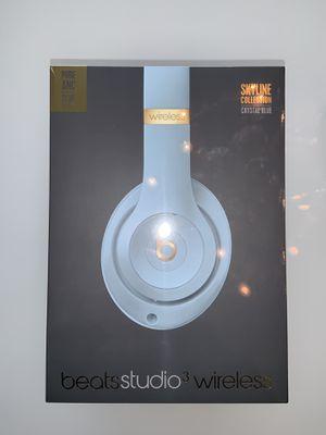 *UNOPENED* Beats Studio 3 Wireless Skyline Edition Crystal Blue for Sale in Atlanta, GA