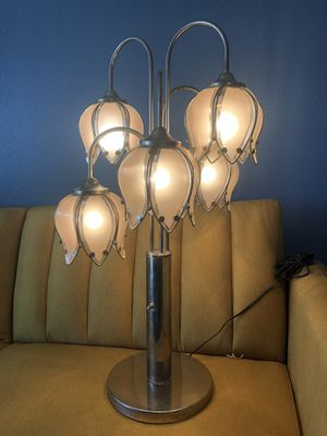 Vintage Mid Century Modern/ Art Deco 3 Phase table lamp. for Sale in San Diego, CA