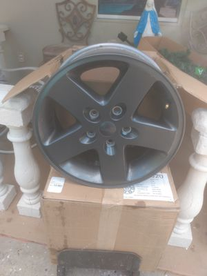 Jeep wheels the anthracite series for Sale in Tampa, FL