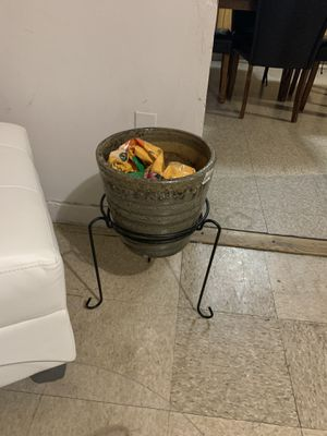 Plant pot and stand for Sale in Boston, MA