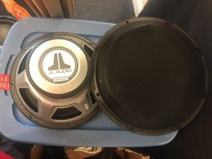 Car Speakers. JL AUDIO. for Sale in Tacoma, WA