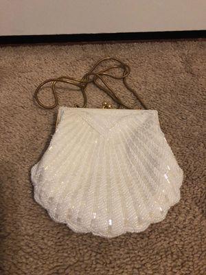 White Evening Shoulder Bag by Valerie Stevens for Sale in Kensington, MD