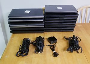 Lot 14 laptops, Dells & Lenovos for Sale in Springfield, VA