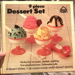 MCM Vintage Dessert Set for Sale in Chandler, AZ
