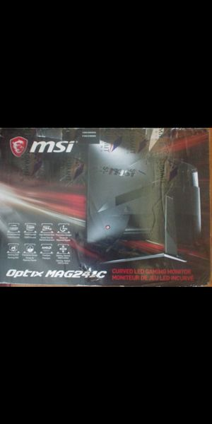 Msi Mag241c 144hz for Sale in New Chicago, IN