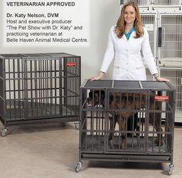 Metal Dog Crate (M-L) Escape Proof for Sale in Santa Monica,  CA