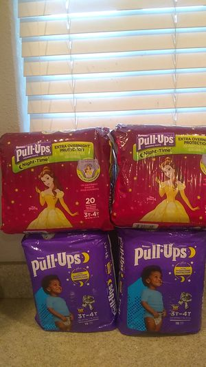 Huggies pull ups for Sale in Fremont, CA