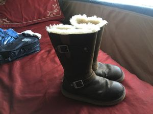 Ugg leather snow boots for Sale in West Jordan, UT