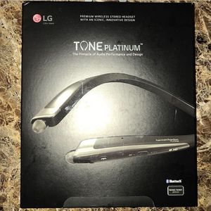 LG Tone Platinum Bluetooth Headset for Sale in Humble, TX