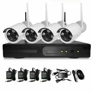 4 PCS 720 P Outdoor HD Wireless IP Home Security Camera System Wifi Wire-Free✔ Plug &Play✔Easy Remote✔No Monthly Fee for Sale in Norwalk, CA