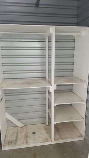 Portable closet with shelves for Sale in Downey, CA