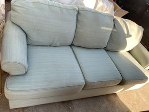 Beautiful Soft Sage Green Couch for Sale in Lake Elsinore, CA