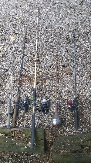 Fishing gear all in working condition for Sale in Lancaster, OH