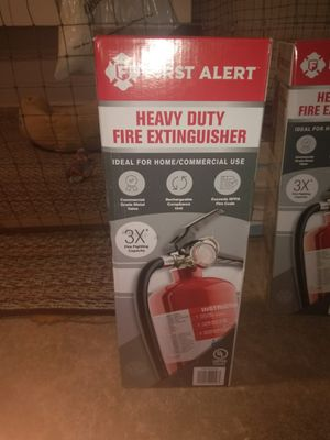 2 First Alert Fire extinguisher rechargable compliance unit for Sale in Sacramento, CA