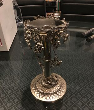 Silver grapes&vine candle holder for Sale in Ballwin, MO