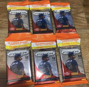 Prizm baseball cards for Sale in Solon, OH