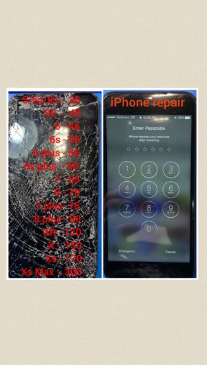 Cracked screen ?? for Sale in Lawrenceville, GA