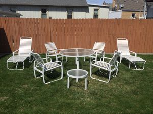 8 Piece Outdoor Patio Furniture for Sale in Chicago, IL