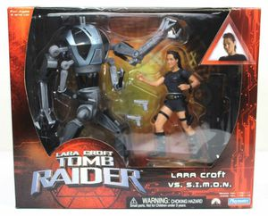 2001 Playmates Tomb Raider Lara Croft vs. SIMON Action Figure - New in Box! for Sale in Kent, WA