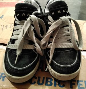 Men's Gently Worn Black Suede Vans Size 8 for Sale in Webb City, MO