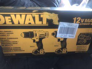 DeWalt Drill/driver & Impact driver kit for Sale in Stockton, CA