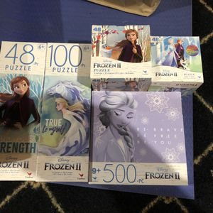 5- Frozen Puzzles for Sale in Mason, OH