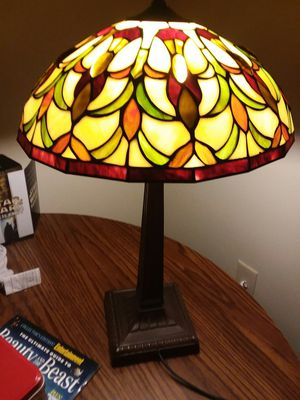 Antique Stained Glass Lamp for Sale in Northville, MI