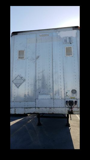 """1996 53""""Ft Dry Van Trailer In Good Conditions for Sale in Hialeah, FL"""