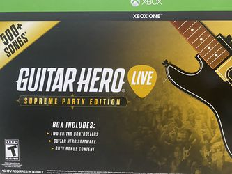 GUITAR HERO *live SUPREME PARTY EDITION for Sale in Los Angeles,  CA