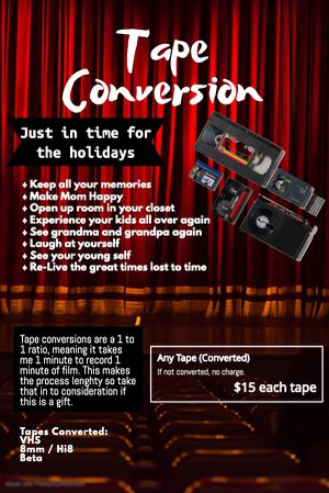 Tape Conversion for Sale in Glendale, CA