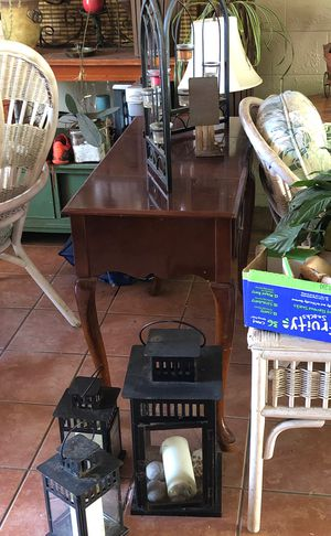 Desk/candle lamp/coffee machine/lamp for Sale in San Diego, CA