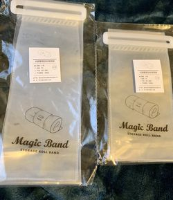 Magic band storage roll bands - 6 pcs for Sale in San Francisco,  CA