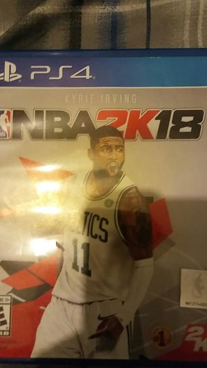NBA 2k18 ps4 for Sale in Chicago, IL