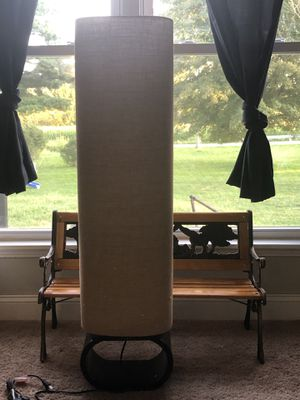 Burlap lamp for Sale in Lancaster, OH