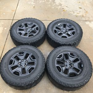 Jeep Wrangler 17in Glossy Rims (Stock Wheels) for Sale in Charlotte, NC