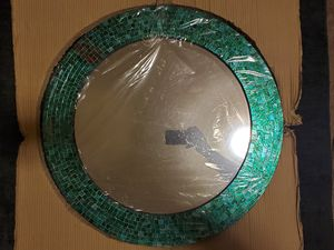 Decorative Turquoise Wall Mirror for Sale in Houston, TX