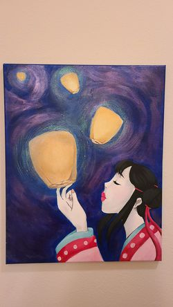 A wish - Painting for Sale in San Angelo,  TX