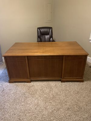 Executive Wooden Desk for Sale in Benson, NC
