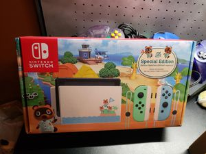 Animal Crossing Edition Nintendo Switch - New & Sealed - Never Removed from Shipping Box for Sale in Pumpkin Center, CA