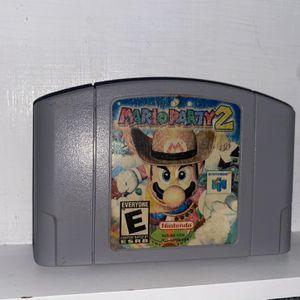 Mario Party 2 Nintendo 64 for Sale in Houston, TX