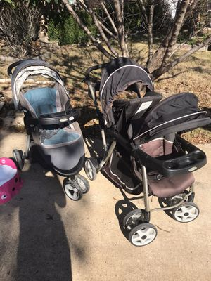 Graco brand jogging and double stroller for Sale in Waxahachie, TX