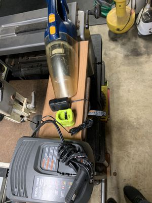 Ryobi chargers and vac for Sale in Capitola, CA