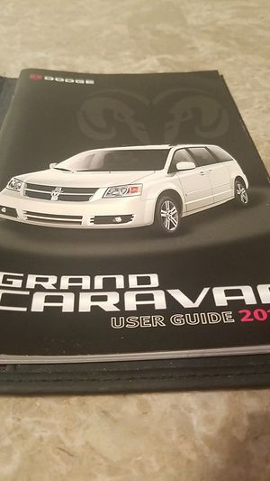 2010 Dodge Grand Caravan user guide for Sale in Middleburg Heights, OH